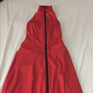 I am Gia iris dress red